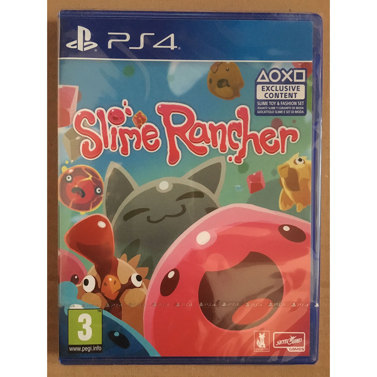 Details about Slime Rancher (PS4) New and Sealed