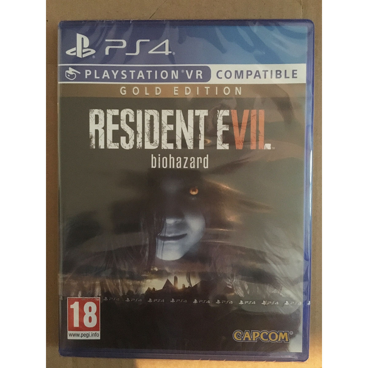 Resident Evil 7 Biohazard Gold Edition Ps4 Vr Compatible New And