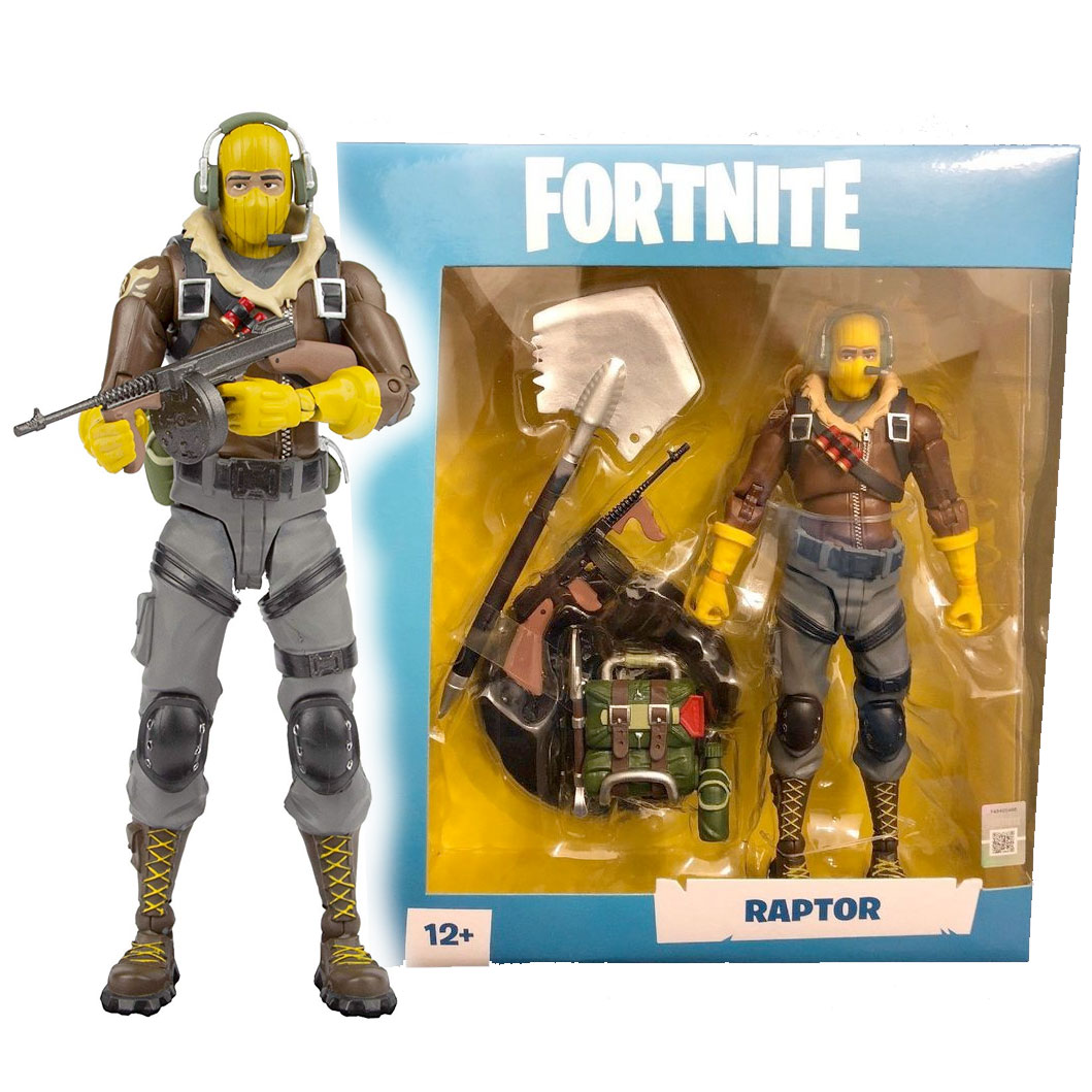 McFarlane Toys Fortnite Raptor Premium Action Figure
