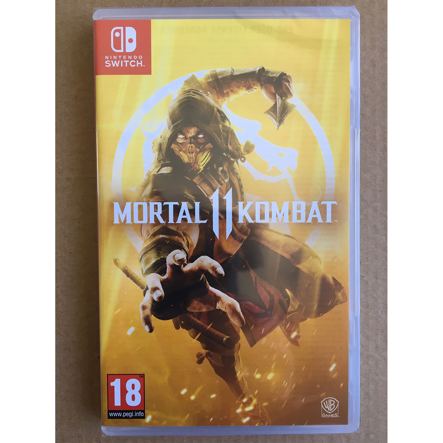 Details about Mortal Kombat 11 NINTENDO SWITCH New and Sealed