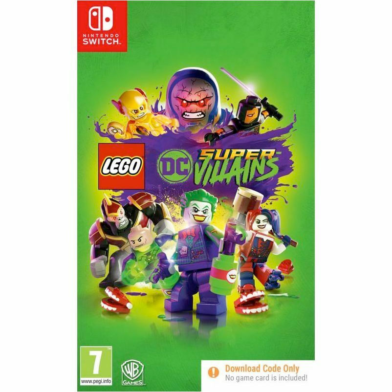 LEGO DC Super Villains NINTENDO SWITCH New and Sealed