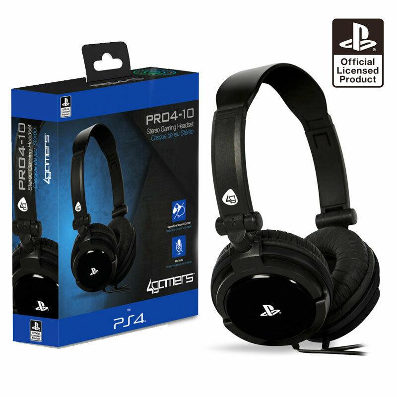 4Gamers PRO4 10 PS4, PS Vita Headset